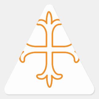 Outline Triangle Sticker