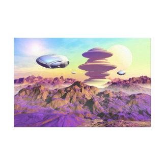 Outpost rangers canvas print