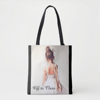 Outre de à la classe :  Un sac fourre-tout à danse