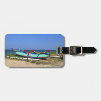 Outrigger boat bag tag