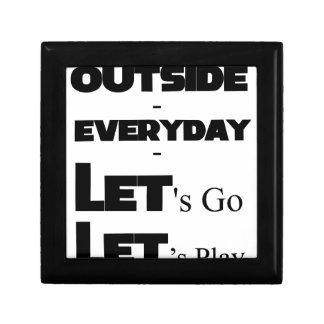 Outside - Everyday - Let's Go - Let's Play Gift Box