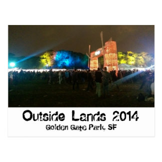 Outside Lands Postcard