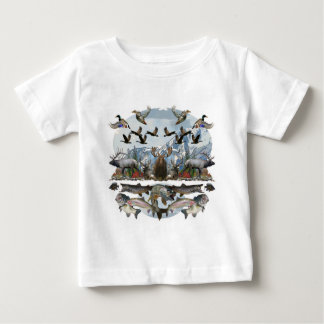 Outside life baby T-Shirt