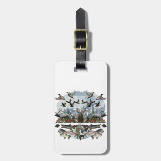 Outside life luggage tag