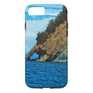 Outside the Bay of Seward Alaska Abstract iPhone 7 Case