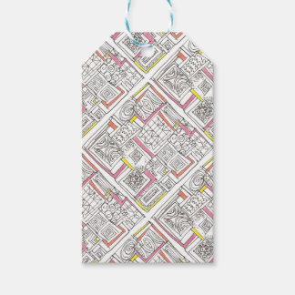 Outside The Box-Abstract Geometric Doodle Gift Tags