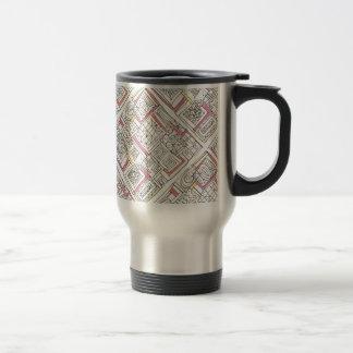 Outside The Box-Abstract Geometric Doodle Travel Mug