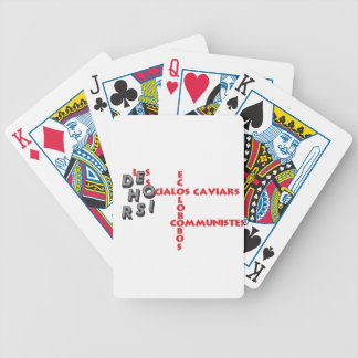 OUTSIDE THE C M E C BICYCLE PLAYING CARDS