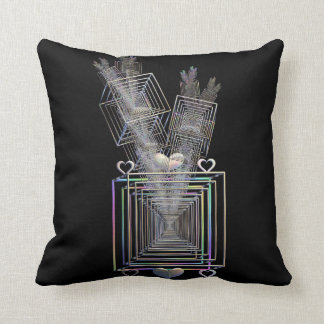 Outside The Square Throw Pillow