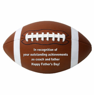 Outstanding Achievement Football Ornament Photo Sculpture Ornament