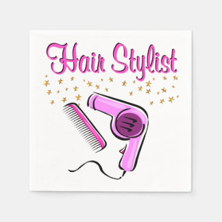 OUTSTANDING HAIR STYLIST AND BEAUTICIAN DISPOSABLE NAPKIN