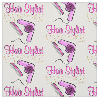 OUTSTANDING HAIR STYLIST AND BEAUTICIAN FABRIC