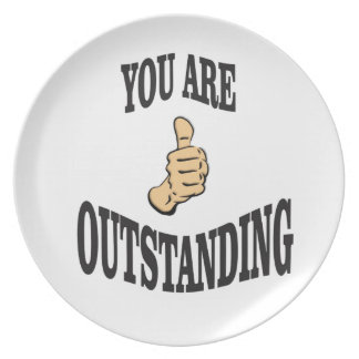 outstanding thumbs ups plate