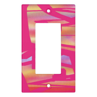 Outta Control I hot pink light switch cover