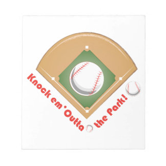 Outta The Park Notepads