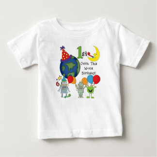 Outta This World 1st Birthday Tshirts and Gifts