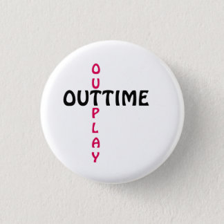 outtime - outplay 1 inch round button