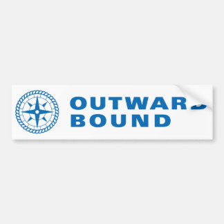 Outward Bound Bumper Sticker