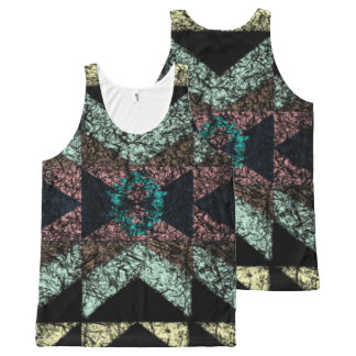 OutwornTribal Aztek Pattern All-Over-Print Tank Top