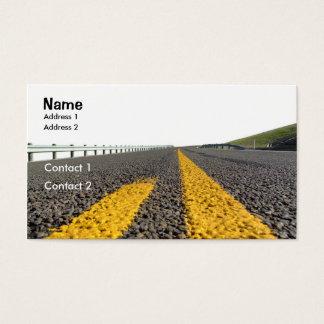 Ouvrez la route cartes de visite