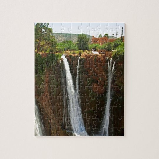 Ouzoud Falls, Morocco Jigsaw Puzzle
