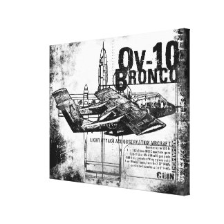 OV-10 Bronco Canvas Print