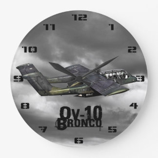 OV-10 Bronco Large Clock