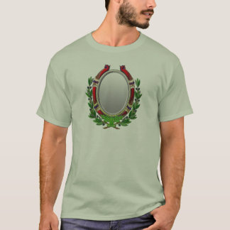 Oval Mirror Olive Branch T-Shirt
