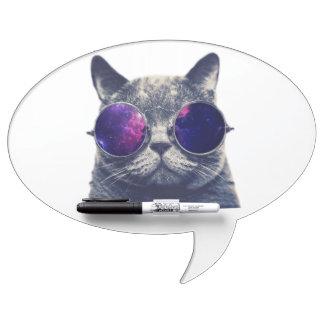 Oval Speech Bubble w/ Pen Dry Erase Board, Foam Ad Dry Erase Board