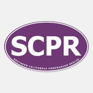Oval Sticker - SCPR