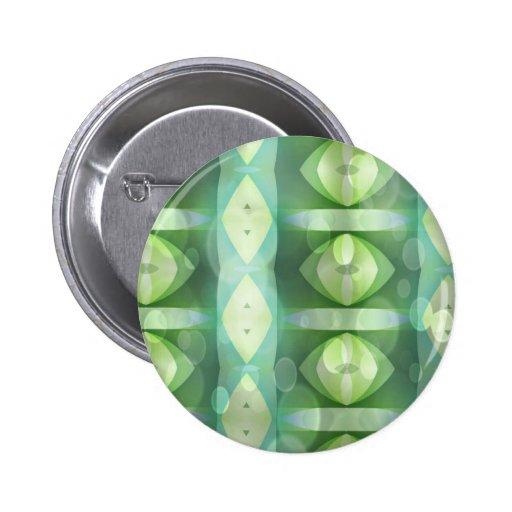 Ovals Overlay Aqua & Green Fractal Buttons