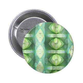 Ovals Overlay Aqua Green Fractal Buttons