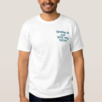 Ovarian Cancer Awareness Embroidered T-Shirt