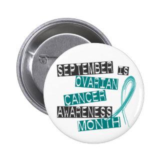 Ovarian Cancer Awareness Month L1 2 Inch Round Button