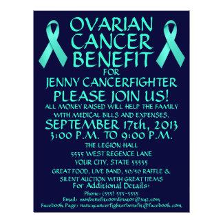 Ovarian Cancer Benefit Flyer