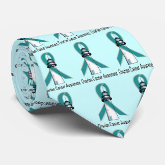Ovarian Cancer Lighthouse of Hope Tie