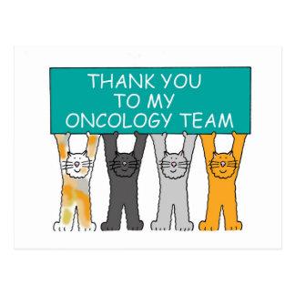 Ovarian Oncology Team Thanks Postcard
