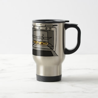 Oven baked pizza travel mug