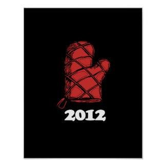 Oven Mitt 2012 copy png Posters