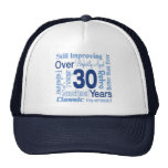 Over 30 Years 30th Birthday Trucker Hats