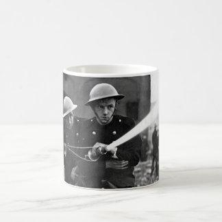 Over 500 firemen and members of the_War image Coffee Mug