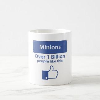 Over A Billion Likes - Minions Coffee Mugs