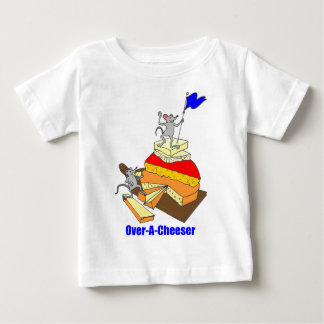 Over-A-Cheeser, Overachiever Baby T-Shirt