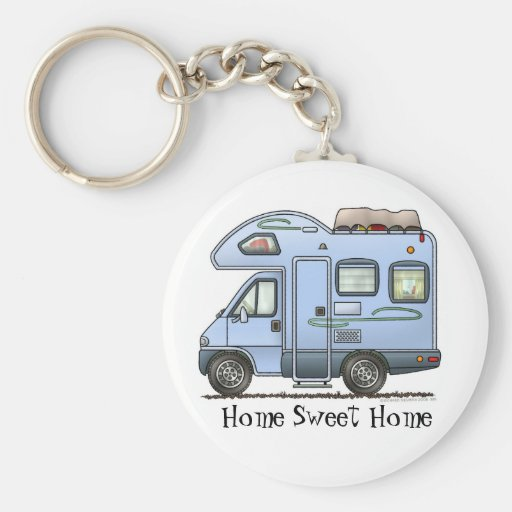 Over Cab Camper RV Keychain HSH