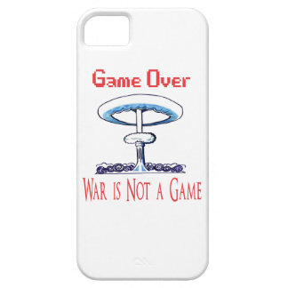 Over game, War is Not to Game iPhone 5 Case