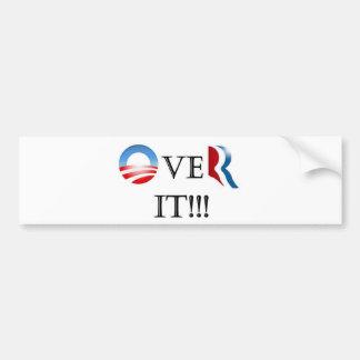 Over It! Bumper Sticker