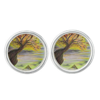 Over Looking Tree Cufflinks