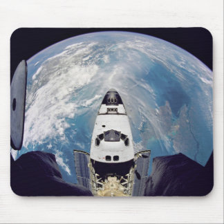 Over shuttle view mouse pad