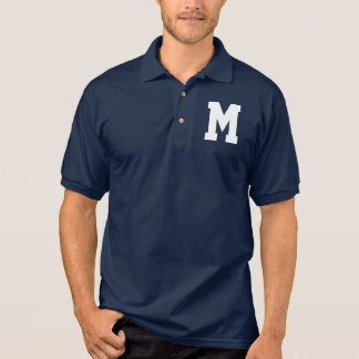 Over Sized SS Monogram Polo Shirt