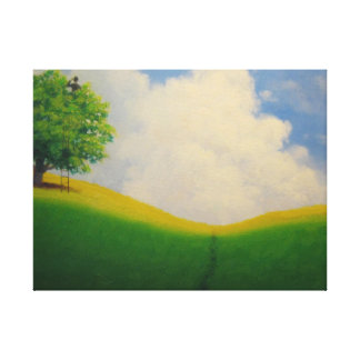 Over the Daydream Hrizon Canvas Print